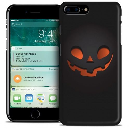 Carcasa iPhone 7 Plus (5.5) Hallowen Extra Fina Citrouille Souriante