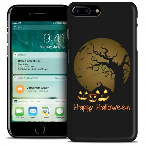 Carcasa iPhone 7 Plus (5.5) Hallowen Extra Fina Happy