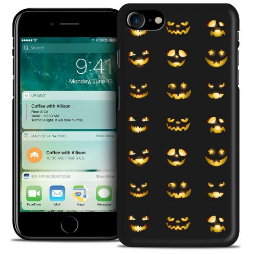 Carcasa iPhone 7 (4.7) Hallowen Extra Fina Smiley Citrouille