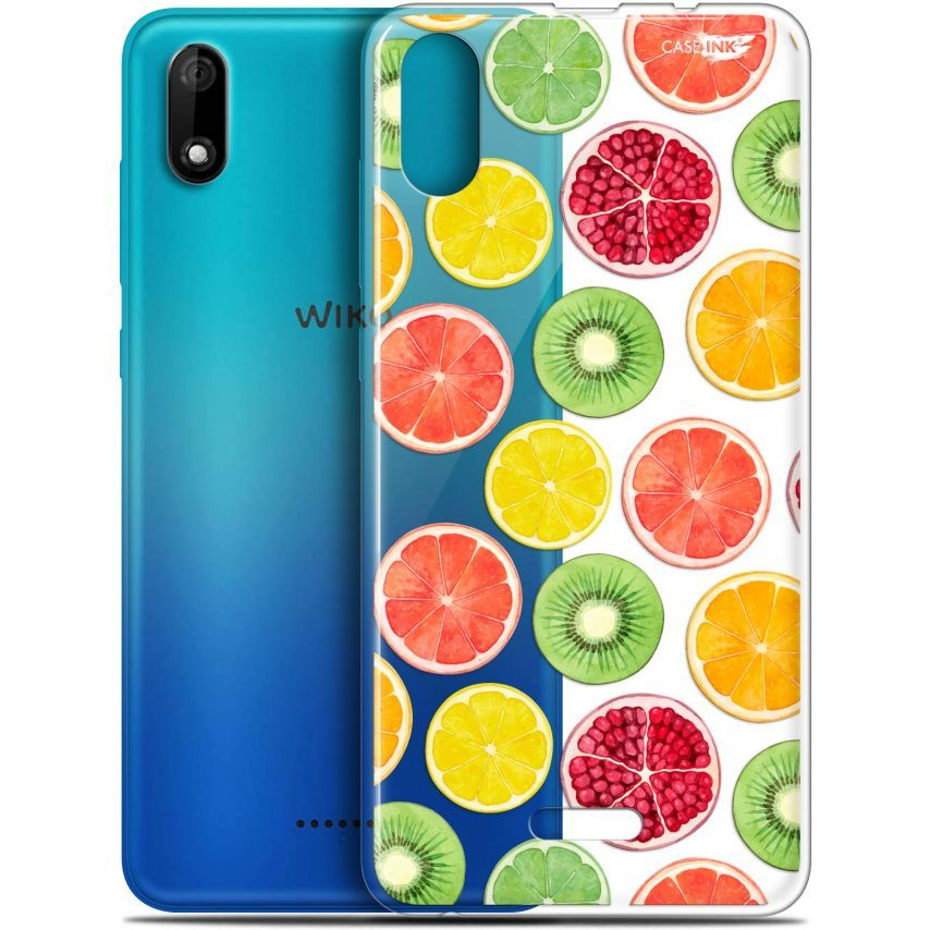 "Carcasa Gel Extra Fina Wiko Y60 (5.45"") Design Fruity Fresh"