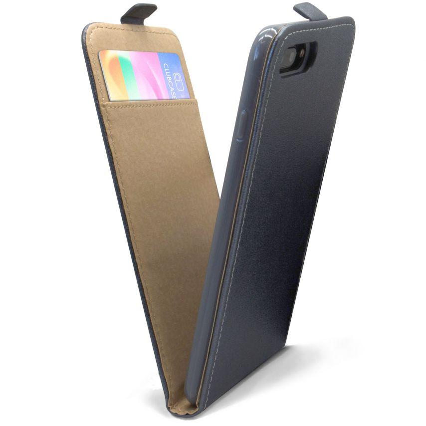 Funda Flexi Flippara Apple iPhone 7 Plus (5.5) Cuero EcoGraphite