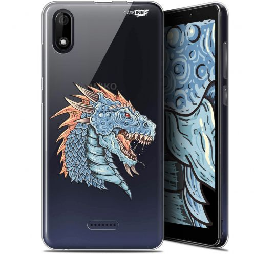 "Carcasa Gel Extra Fina Wiko Y60 (5.45"") Design Dragon Draw"