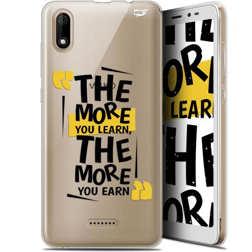"""Carcasa Gel Extra Fina Wiko Y60 (5.45"""") Design The More You Learn"""