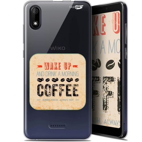 """Carcasa Gel Extra Fina Wiko Y60 (5.45"""") Design Wake Up With Coffee"""