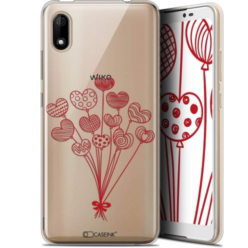 """Carcasa Gel Extra Fina Wiko Y70 (5.99"""") Love Ballons d'amour"""