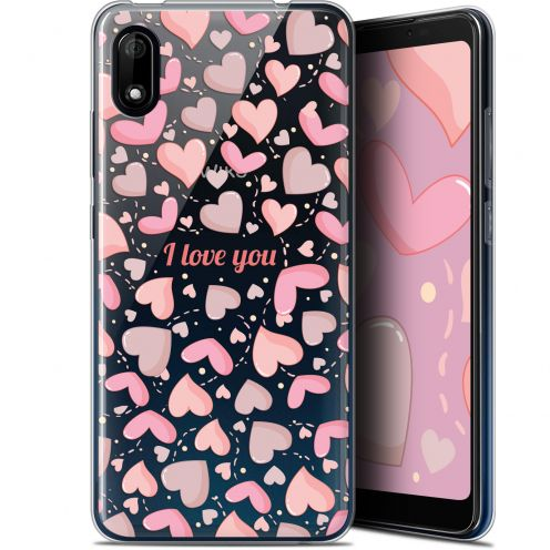 "Carcasa Gel Extra Fina Wiko Y70 (5.99"") Love I Love You"