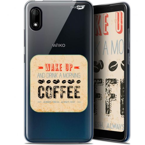 """Carcasa Gel Extra Fina Wiko Y70 (5.99"""") Design Wake Up With Coffee"""