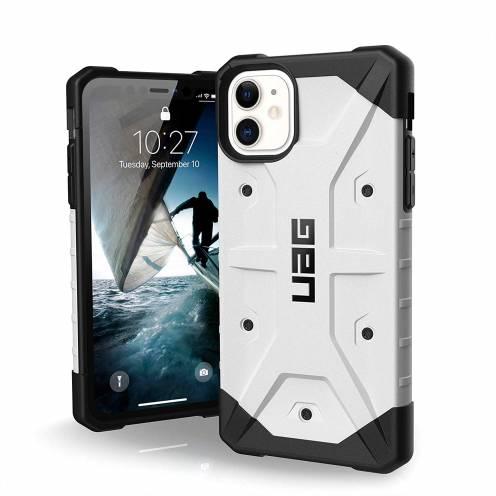 Funda Anti-Golpes iPhone 11 Urban Armor Gear® UAG Pathfinder Blanc