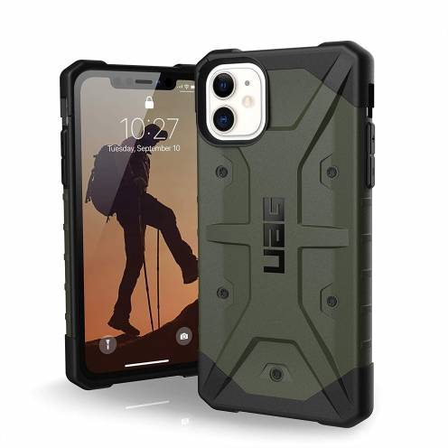 Funda Anti-Golpes iPhone 11 Urban Armor Gear® UAG Pathfinder Olive
