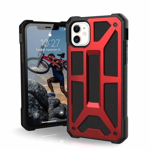 Funda Anti-Golpes iPhone 11 Urban Armor Gear® UAG Monarch Rouge