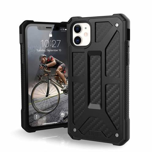 Funda Anti-Golpes iPhone 11 Urban Armor Gear® UAG Monarch Carbon
