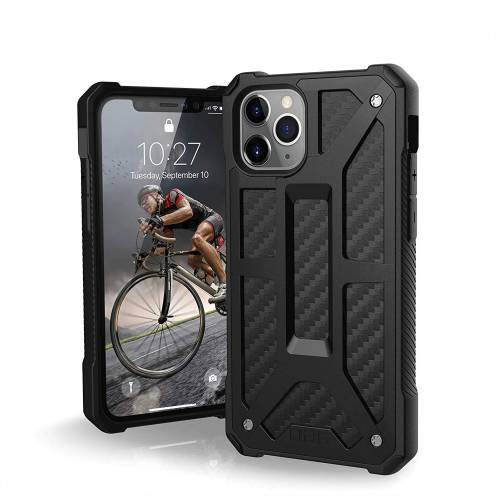 Funda Anti-Golpes iPhone 11 Pro Urban Armor Gear® UAG Monarch Carbon