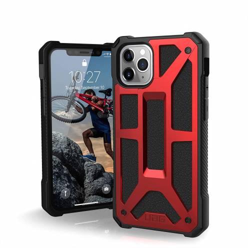 Funda Anti-Golpes iPhone 11 Pro Urban Armor Gear® UAG Monarch Rouge
