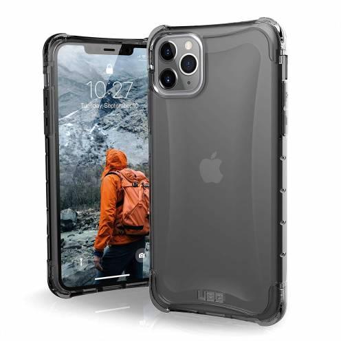 Funda Anti-Golpes iPhone 11 Pro Max Urban Armor Gear® UAG Plyo Noir / Transparent