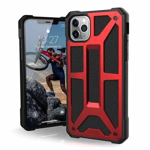Funda Anti-Golpes iPhone 11 Pro Max Urban Armor Gear® UAG Monarch Rouge