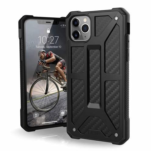 Funda Anti-Golpes iPhone 11 Pro Max Urban Armor Gear® UAG Monarch Carbon
