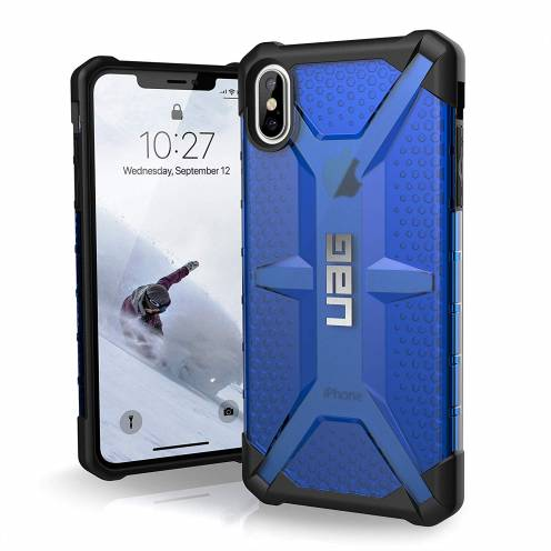 Funda Anti-Golpes iPhone XS Max Urban Armor Gear® UAG Plasma Bleu / Transparent
