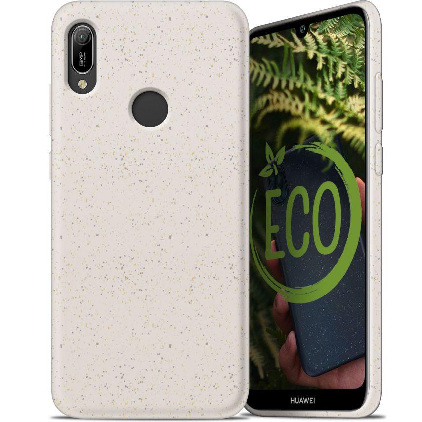 Carcasa Biodegradable ZERO Waste para Huawei Y6 2019 Blanca
