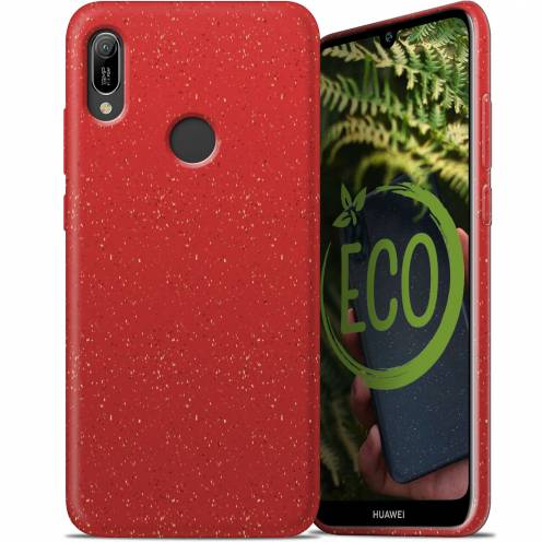 Carcasa Biodegradable ZERO Waste para Huawei Y6 2019 Roja