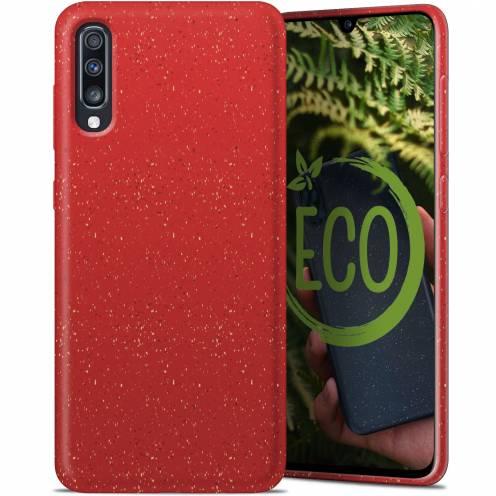 Carcasa Biodegradable ZERO Waste para Samsung Galaxy A70 Roja