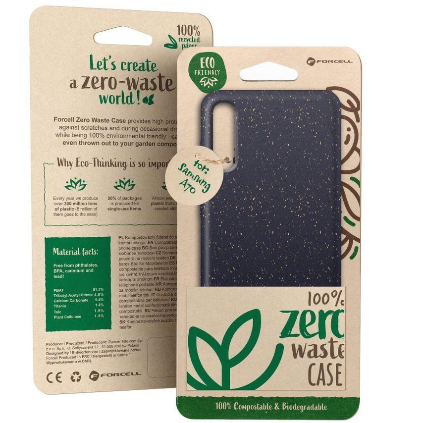 Carcasa Biodegradable ZERO Waste para Samsung Galaxy A70 Negro