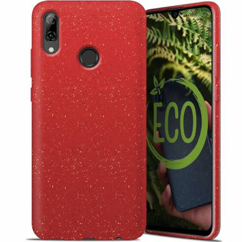 Carcasa Biodegradable ZERO Waste para Huawei P Smart 2019 Roja