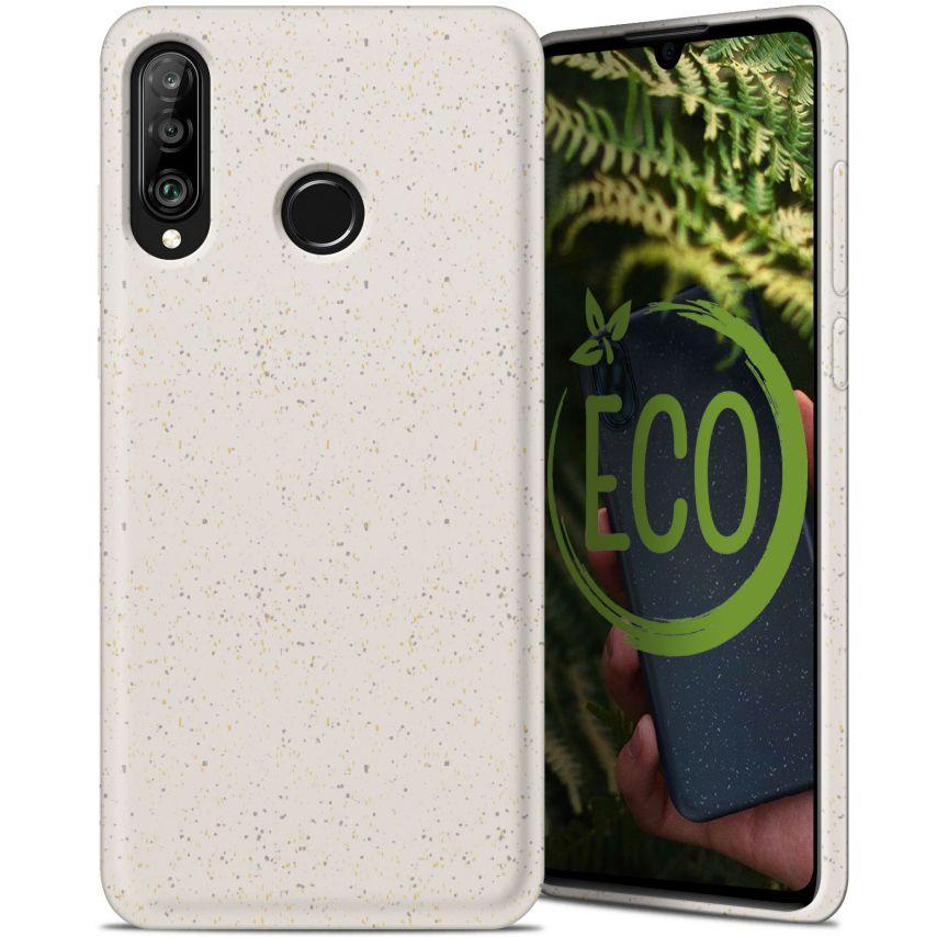 Carcasa Biodegradable ZERO Waste para Huawei P30 Lite Blanca