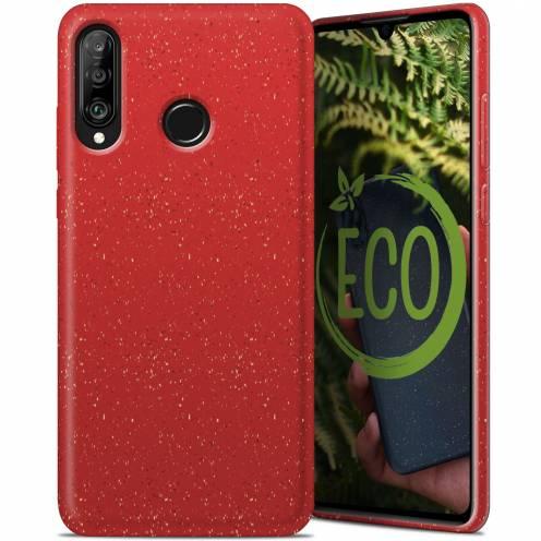 Carcasa Biodegradable ZERO Waste para Huawei P30 Lite Roja