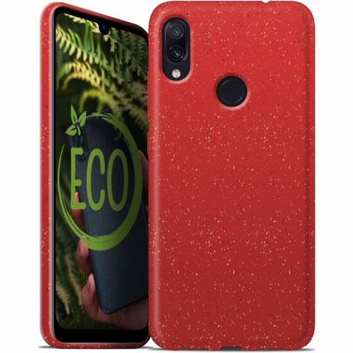 Carcasa Biodegradable ZERO Waste para Xiaomi Redmi Note 7 Roja