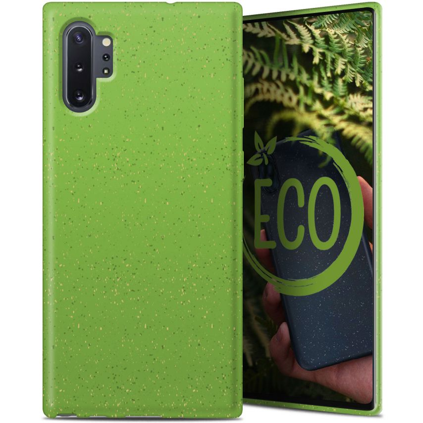 Carcasa Biodegradable ZERO Waste para Samsung Galaxy Note 10 Plus Verde
