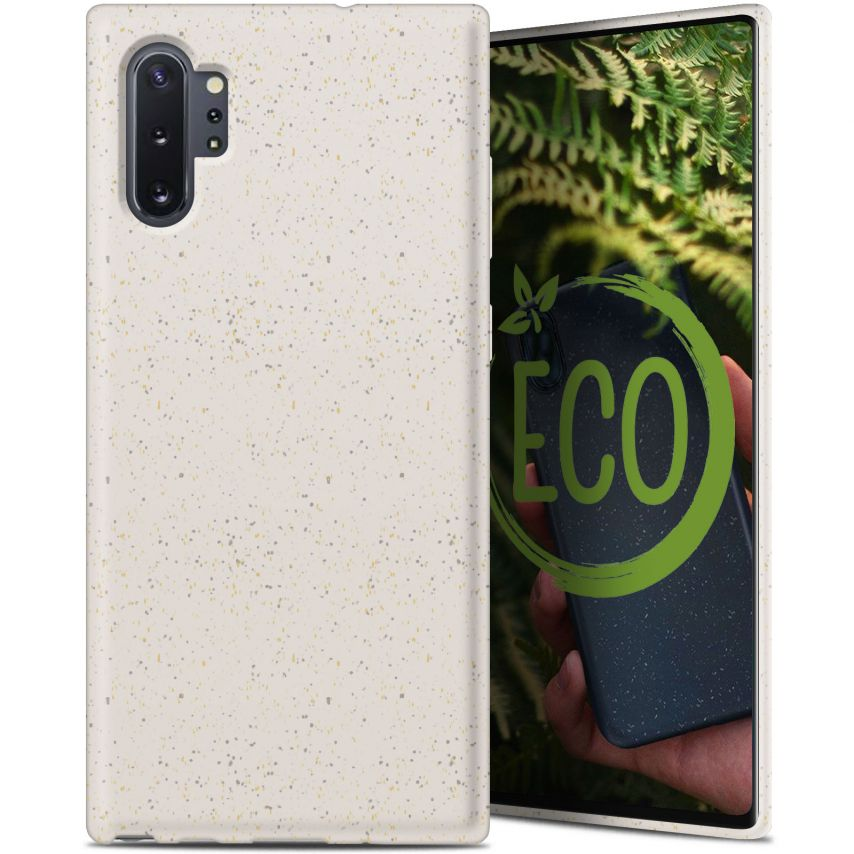 Carcasa Biodegradable ZERO Waste para Samsung Galaxy Note 10 Plus Blanca