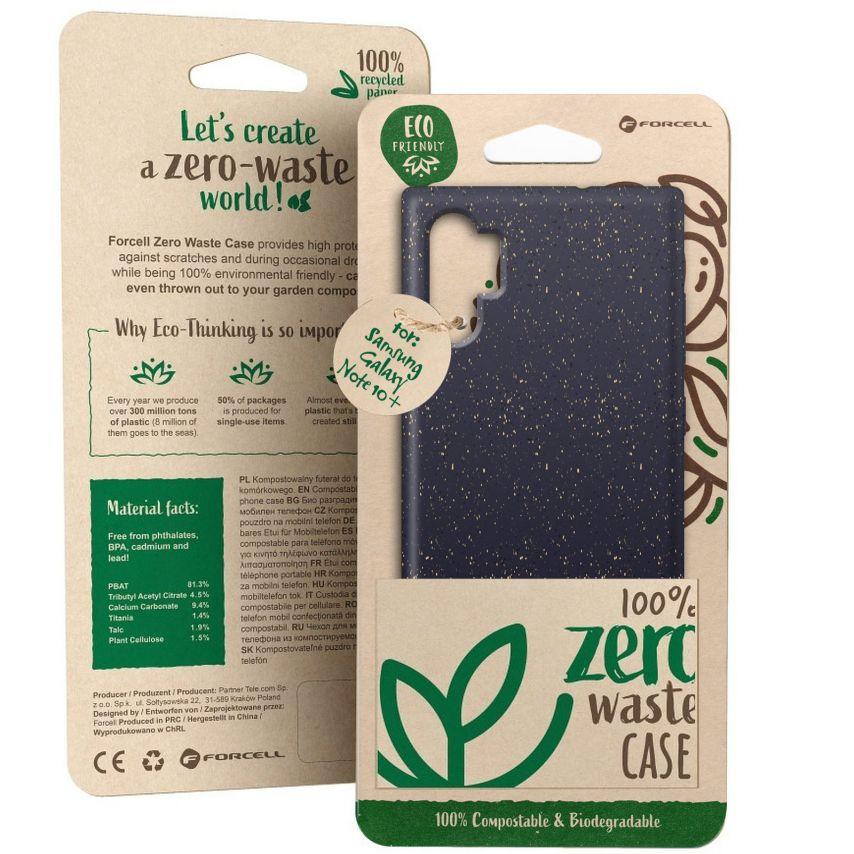 Carcasa Biodegradable ZERO Waste para Samsung Galaxy Note 10 Plus Negro