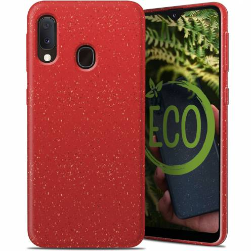 Carcasa Biodegradable ZERO Waste para Samsung Galaxy A40 Roja