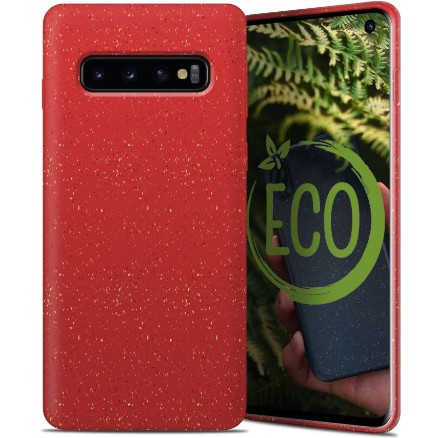 Carcasa Biodegradable ZERO Waste para Samsung Galaxy S10 Roja
