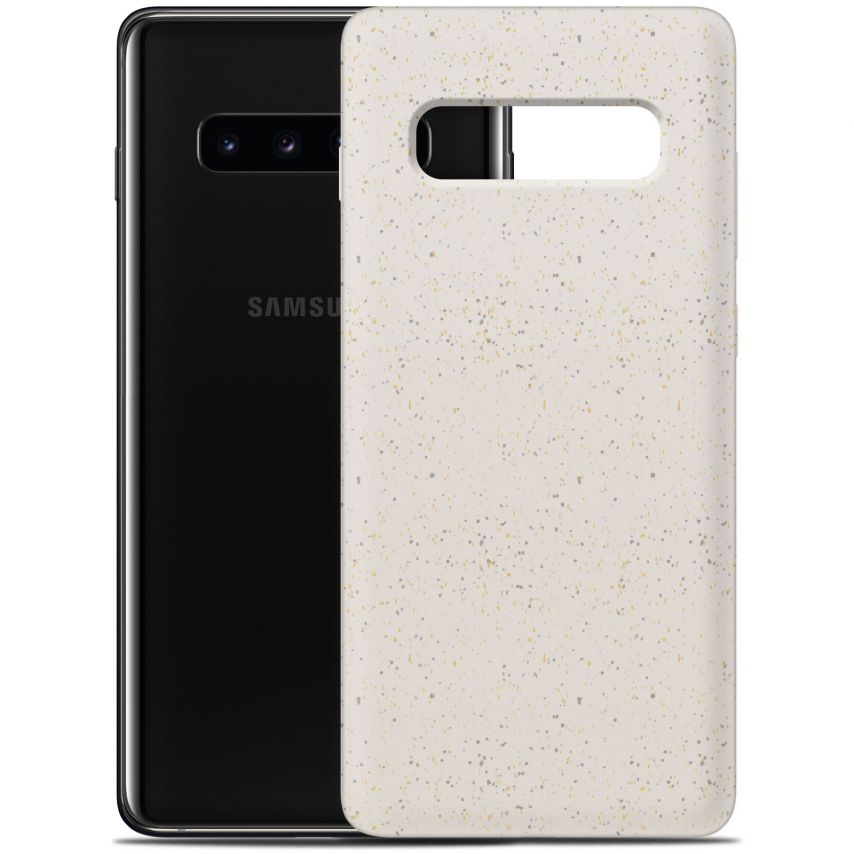 Carcasa Biodegradable ZERO Waste para Samsung Galaxy S10 Plus Blanca
