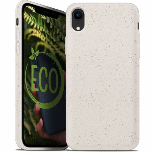 Carcasa Biodegradable ZERO Waste para iPhone XR Blanca