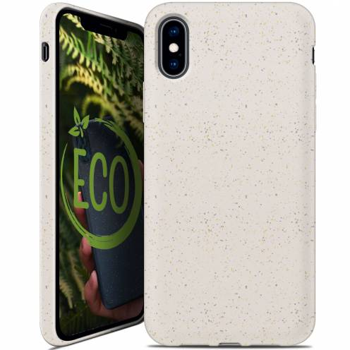 Carcasa Biodegradable ZERO Waste para iPhone X / XS Blanca