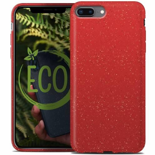 Carcasa Biodegradable ZERO Waste para iPhone 7 Plus / 8 Plus Roja
