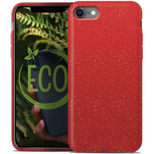 Carcasa Biodegradable ZERO Waste para iPhone 7 / 8 Roja