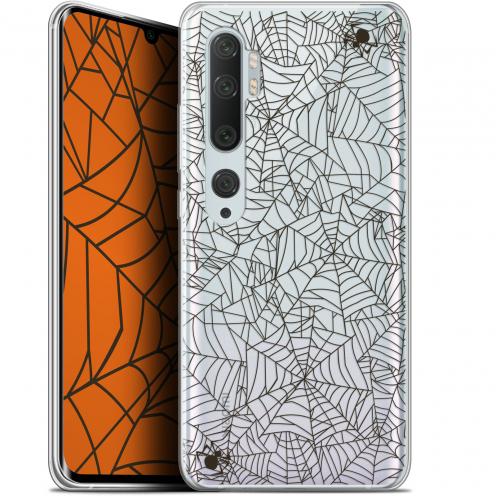 "Carcasa Gel Extra Fina Xiaomi Mi Note 10 / Pro (6.47"") Halloween Spooky Spider"