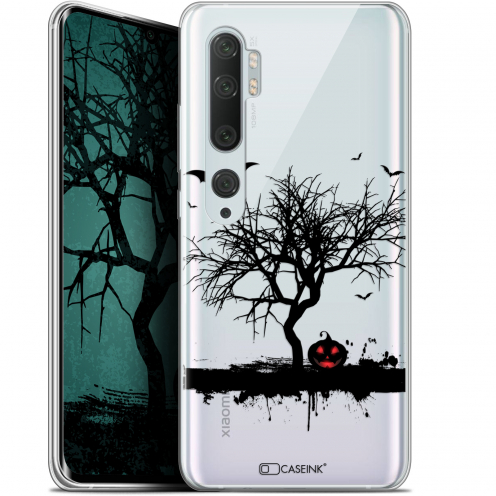 "Carcasa Gel Extra Fina Xiaomi Mi Note 10 / Pro (6.47"") Halloween Devil's Tree"