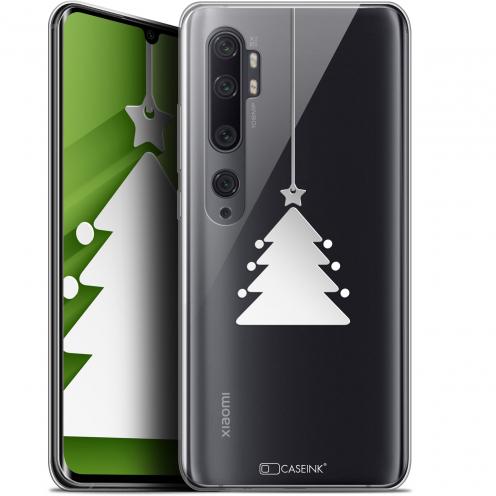 "Carcasa Gel Extra Fina Xiaomi Mi Note 10 / Pro (6.47"") Noël 2017 Petit Arbre"