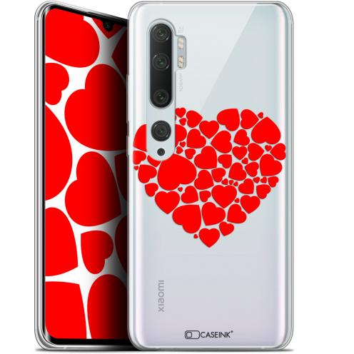 """Carcasa Gel Extra Fina Xiaomi Mi Note 10 / Pro (6.47"""") Love Coeur des Coeurs"""