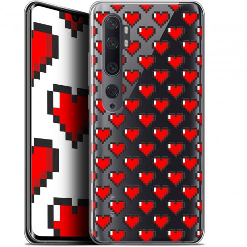 "Carcasa Gel Extra Fina Xiaomi Mi Note 10 / Pro (6.47"") Love Pixel Art"