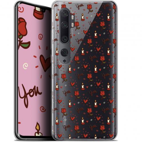 "Carcasa Gel Extra Fina Xiaomi Mi Note 10 / Pro (6.47"") Love Bougies et Roses"