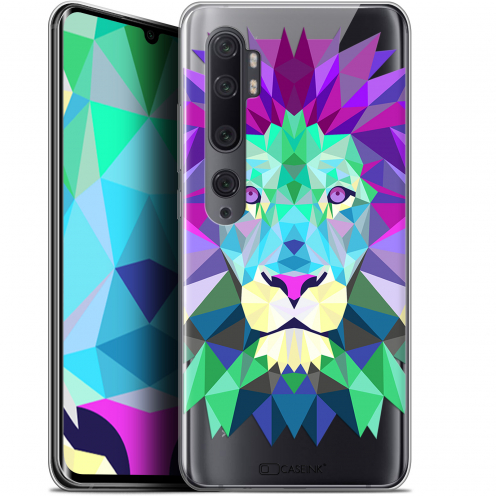 "Carcasa Gel Extra Fina Xiaomi Mi Note 10 / Pro (6.47"") Polygon Animals León"