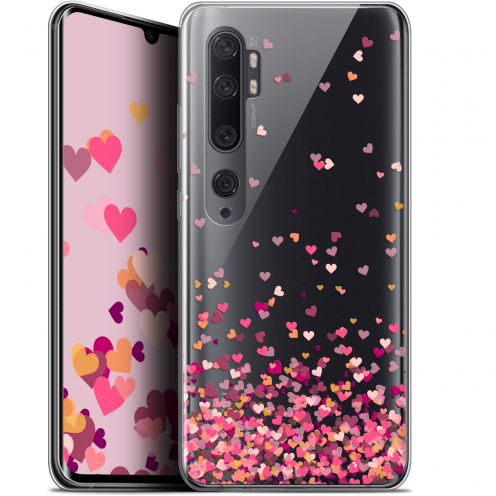 "Carcasa Gel Extra Fina Xiaomi Mi Note 10 / Pro (6.47"") Sweetie Heart Flakes"
