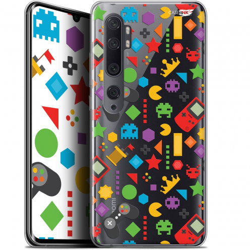"Carcasa Gel Extra Fina Xiaomi Mi Note 10 / Pro (6.47"") Design PacMan"