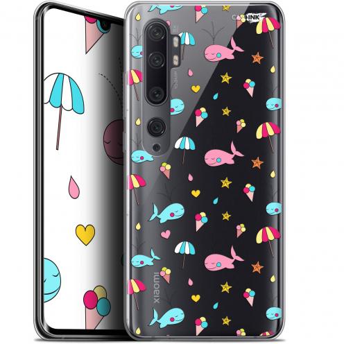 "Carcasa Gel Extra Fina Xiaomi Mi Note 10 / Pro (6.47"") Design Baleine à la Plage"