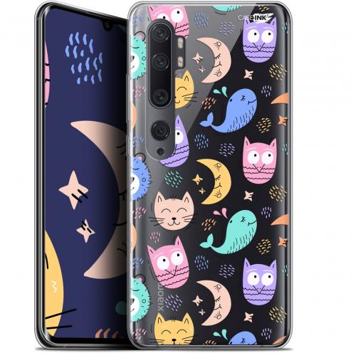 "Carcasa Gel Extra Fina Xiaomi Mi Note 10 / Pro (6.47"") Design Chat Hibou"
